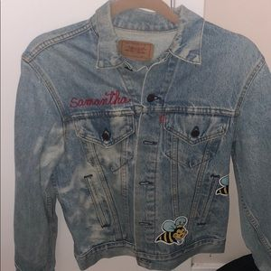 Vintage Jean jacket one size fits all